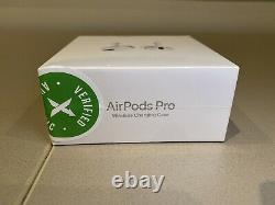 APPLE AIRPODS PRO Bluetooth Noise Cancellation with Wireless Charging Case White