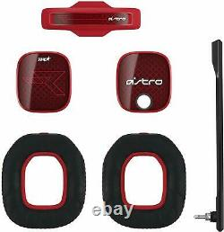 ASTRO Gaming A40 TR Mod Kit, Noise Cancelling Conversion Kit Red