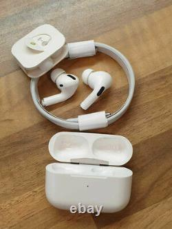 AirPods Pro Wireless Bluetooth Noise Cancellation Headset With Charger MWP22AM/A