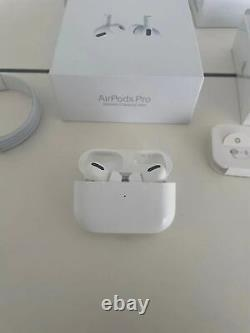 Apple AirPods Pro -with Charging Case Force sensor- Active Noise Cancelling