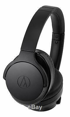 Audio-Technica Over-Ear Noise-Cancelling Wireless Headphones Black ATH-ANC900BT