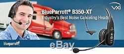 Bluetooth Cell Phone Headset Noise Cancelling Trucker VXi Blue Parrot B350XT