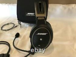 Bose A20 Bluetooth Noise Cancelling Pilot Headset Aviation Airplane Headphones