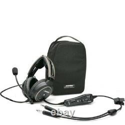 Bose A20 Noise Canceling Aviation Headset with Bluetooth & Dual Plugs