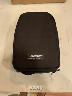 Bose A20 Noise Cancelling Aviation Headset U174 Black with case