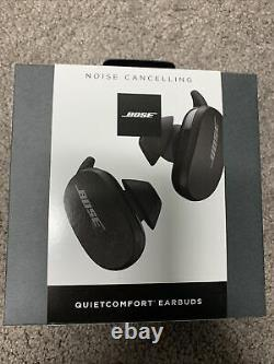 Bose QuietComfort QC True Wireless Earbuds Black Noise Cancelling BRAND NEW