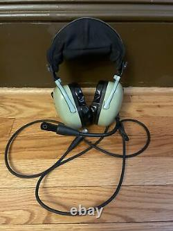 DAVID CLARK H20-10X NOISE CANCELLING HEADSET AVIATION AIRPLANE Headset Only