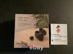 Echo Buds 2nd Gen Wireless earbuds with active noise cancellation Black NEW