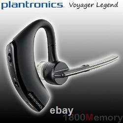 GENUINE Plantronics Voyager Legend Bluetooth Headset 3 Mic Noise Cancellation