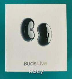 IN HAND SAMSUNG Galaxy Buds Live BLACK Active Noise Cancellation ANC Bluetooth 5