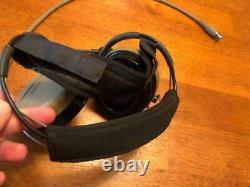 INVISIO T5 Noise Cancelling Communication Headset Tan Single Com with Gel Cups