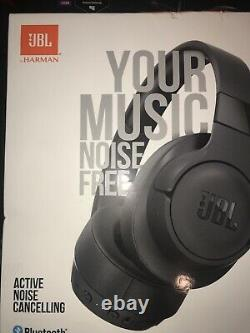 JBL Tune 750NC over-ear Bluetooth noise cancelling headphones (black) New Sealed