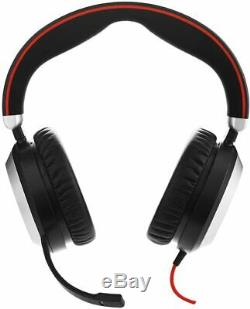 Jabra Evolve 80 Professional Stereo Noise Cancelling Wired Headset