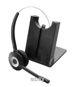Jabra PRO 920 Mono Wireless Headset Over-the-Head Noise Cancelling 8Hrs Run Time