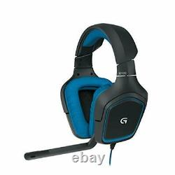 Logicool G Gaming Headset G430 black 2.1ch stereo noise canceling micropho dof