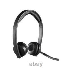 Logitech H820E Wireless Dual Headset with Noise-Cancelling Microphone #981000516