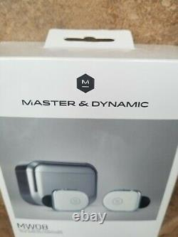 Master & Dynamic MW08 Active Noise-Cancelling True Wireless Earphones. Brand New