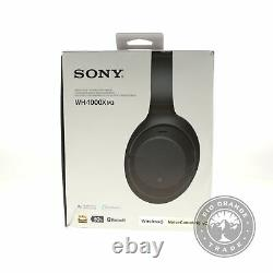 NEW Sony WH1000XM3/B Noise Cancelling Wireless Over Ear Headset in Black