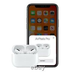 New Apple AirPods Pro 2019 White Original Active Noise Cancelling Headphones