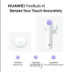 New HUAWEI FreeBuds 4i Wireless Earbuds Bluetooth 5.2 Active Noise Cancellation