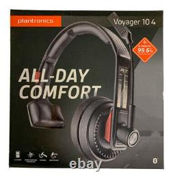 Plantronics Voyager 104 Bluetooth Noise Canceling Headset with Microphone Black
