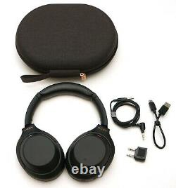 SONY WH-1000XM4/B Wireless Noise Cancelling Stereo Headphones BLACK WH-1000XM4