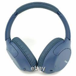 SONY WH-CH710N Wireless Bluetooth Noise-Cancelling Headphones Blue