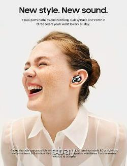 Samsung Galaxy Buds Live Earbuds Active Noise Cancelling Mystic Black US Version