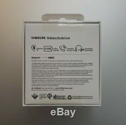 Samsung Galaxy Buds Live White Active Noise Cancellation BRAND NEW