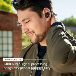 Sony WF-1000XM3 Wireless Bluetooth Noise Cancelling Headphones Silver #42 NEW