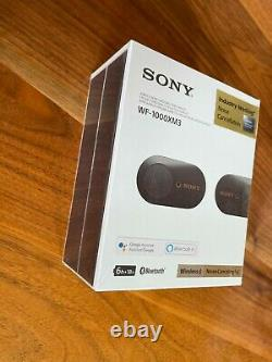 Sony WF-1000XM3 Wireless Noise Canceling Stereo Headset Brand New Unoppened