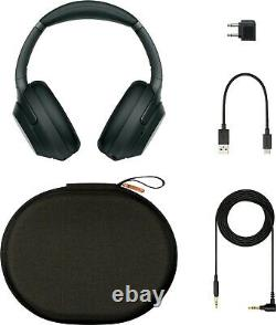 Sony WH-1000X M3 Wireless Noise Canceling Stereo Headset Complete