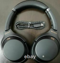 Sony WH-1000XM3/B Bluetooth Wireless Noise Canceling Stereo Headphones