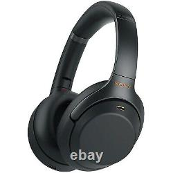 Sony WH-1000XM3 Bluetooth Wireless Noise Canceling Stereo Headphones- Black