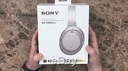 Sony WH-1000XM3 Over Ear Wireless Bluetooth Noise Cancelling Headphones silver