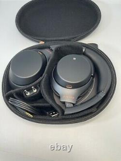 Sony WH-1000XM3 Wireless Bluetooth Noise Canceling Over Ear Headphones Black