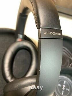 Sony WH-1000XM3 Wireless Noise-Canceling Headphones Black BOXED