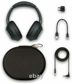 Sony WH-1000XM3 Wireless Noise-Canceling Headphones Black Excellent Condition