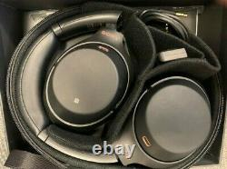 Sony WH-1000XM3 Wireless Noise-Canceling Headphones Open Box No Cable