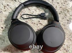 Sony WH-1000XM4 Over-Ear Noise Cancelling Wireless Bluetooth Headphone Black XM4