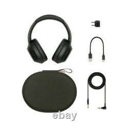 Sony WH-1000XM4 Over the Ear Noise Cancelling Wireless Headphones Black #54