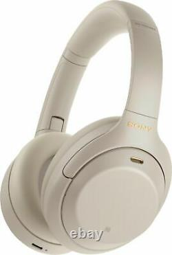 Sony WH-1000XM4 Over the Ear Noise Cancelling Wireless Headphones Silver #56