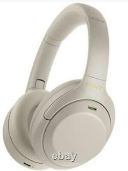 Sony WH-1000XM4 Wireless Noise Canceling Bluetooth Headphones WH1000XM4 Silver