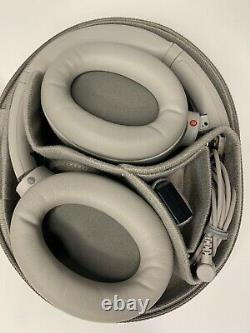 Sony WH-1000XM4 Wireless Noise Canceling Over-Ear Headphones Silver