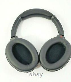 Sony WH1000XM3 Noise Cancelling Headphones, Wireless Bluetooth Black WH-1000XM3