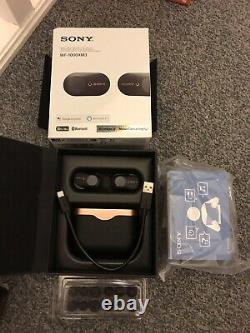 Sony Wf-1000xm3 Wireless Noise Cancelling Stereo Headset/ear Buds