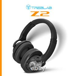 TREBLAB Z2 Sports Wireless Headphones Bluetooth Active Noise Cancelling Over Ear