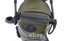 Tactical Airsoft Headsets Elite Military Style Noise Canceling Comtac II Headset