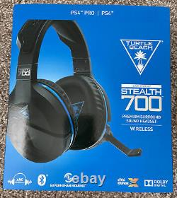 Turtle Beach Stealth 700 Wireless Bluetooth Noise-Canceling Headset for PS4/Pro