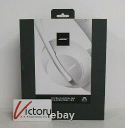 Used Bose Noise Cancelling Headphones 700 794297-0300 Luxe Silver WW